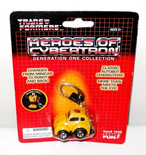 us topo - Transformers Bumblebee Keychain, Heroes on Cybertron, Generation One Collection - Wide World Maps & MORE! - Toy - Wide World Maps & MORE! - Wide World Maps & MORE!