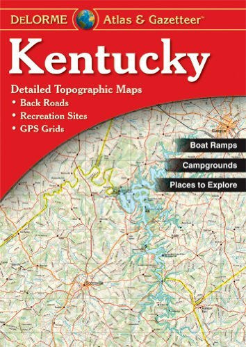 us topo - Kentucky Atlas & Gazetteer - Wide World Maps & MORE! - Book - Delorme - Wide World Maps & MORE!