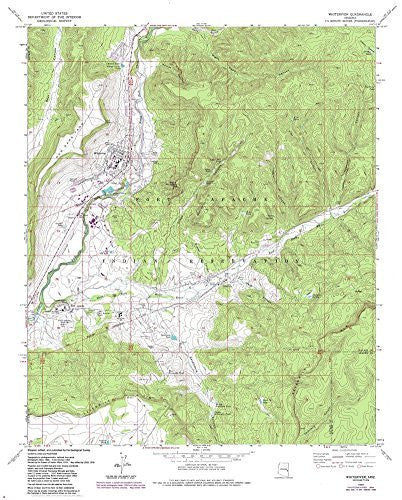 WHITERIVER 7.5', Arizona - Wide World Maps & MORE!