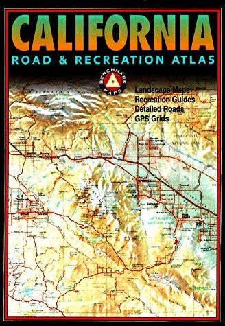 us topo - Benchmark California Road & Recreation Atlas - Wide World Maps & MORE! - Book - Brand: Map Link - Wide World Maps & MORE!