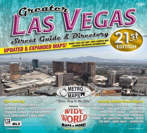 Greater Las Vegas Street Guide & Directory (Yellow1)