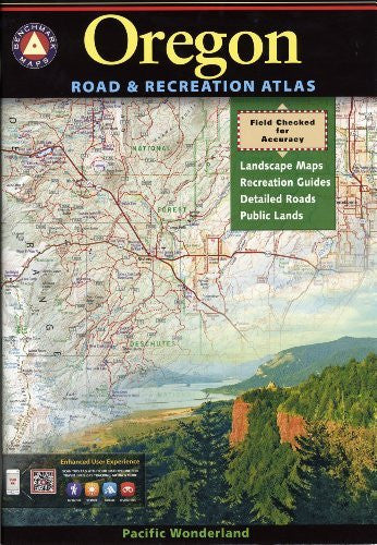 us topo - Oregon Road & Recreation Atlas - Wide World Maps & MORE! - Book - Wide World Maps & MORE! - Wide World Maps & MORE!