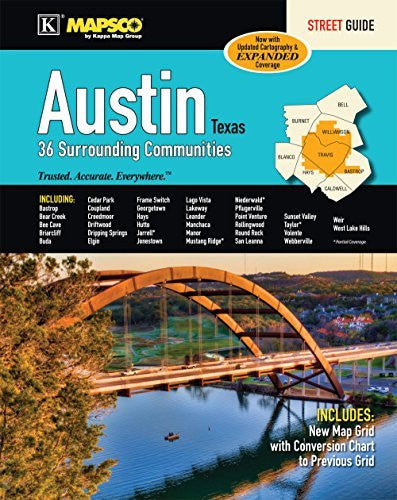 us topo - Austin, TX Street Guide - Wide World Maps & MORE! - Book - Wide World Maps & MORE! - Wide World Maps & MORE!