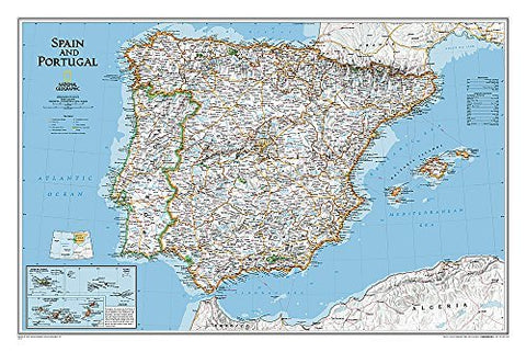 Spain and Portugal Classic [Laminated] (National Geographic Reference Map) by National Geographic Maps - Reference (2011-01-01)