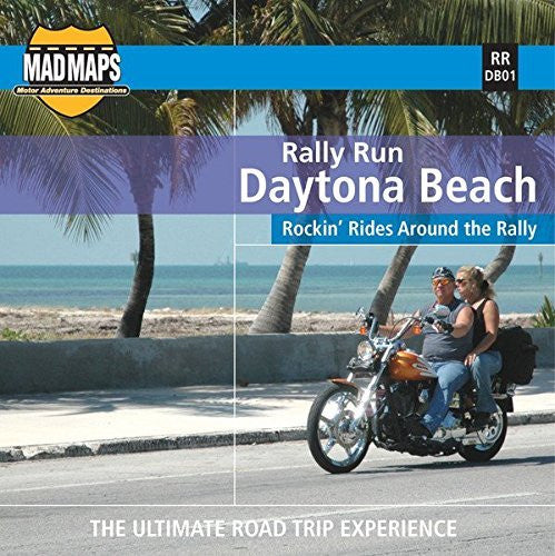 us topo - MAD Maps - Rally Run Road Trip Map - Daytona Beach - RRDB01 - Wide World Maps & MORE! - Book - Wide World Maps & MORE! - Wide World Maps & MORE!