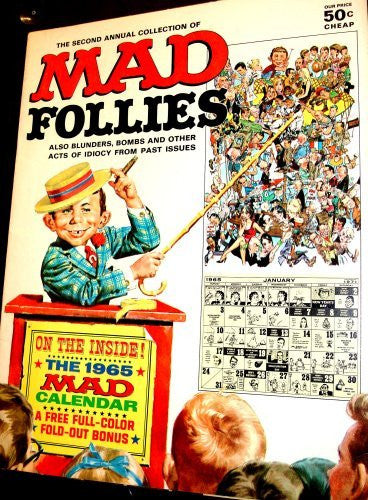 MAD FOLLIES 2ND ANNUAL COLLECTION: Blunders, Bombs and other Acts of Idiocy from Past Issues... - Wide World Maps & MORE! - Book - Wide World Maps & MORE! - Wide World Maps & MORE!