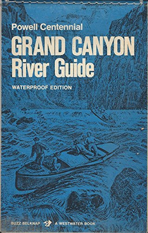 Powell Centennial Grand Canyon River Guide Waterproof Edition