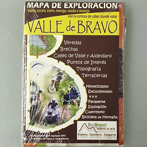 Valle de Bravo Mapa de Exploracion Outdoor/Recreation Map