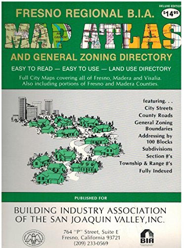 us topo - Fresno Regional Building Industry Association Map Atlas and General Zoning Directory - Wide World Maps & MORE! - Book - Wide World Maps & MORE! - Wide World Maps & MORE!