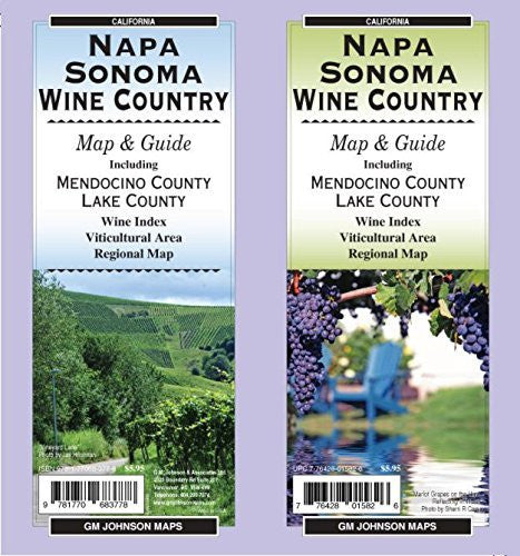 Napa & Sonoma Wineries Map