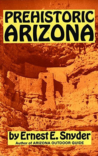Prehistoric Arizona - Wide World Maps & MORE! - Book - Brand: Golden West Publishers (AZ) - Wide World Maps & MORE!