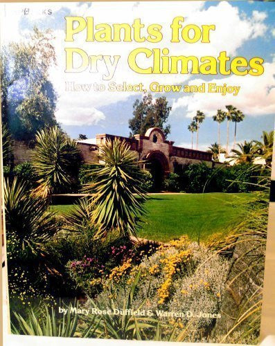 1987 Plants For Dry Climates [Mass Market Paperback Archival Copy] - Wide World Maps & MORE! - Book - HP Books - Wide World Maps & MORE!