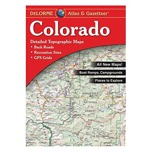 Colorado Atlas & Gazetteer - Wide World Maps & MORE! - Map - DeLorme - Wide World Maps & MORE!