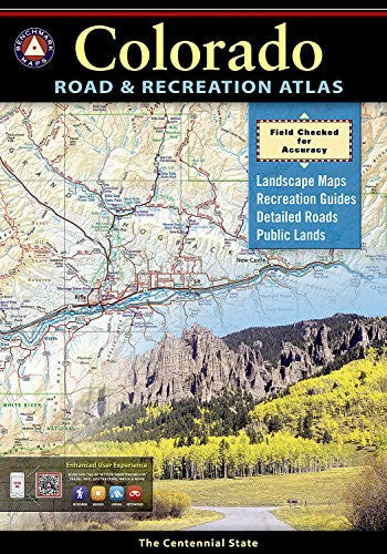 Colorado Road and Recreation Atlas (Benchmark Atlas)