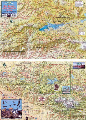 Big Bear and Lake Arrowhead Trails Map