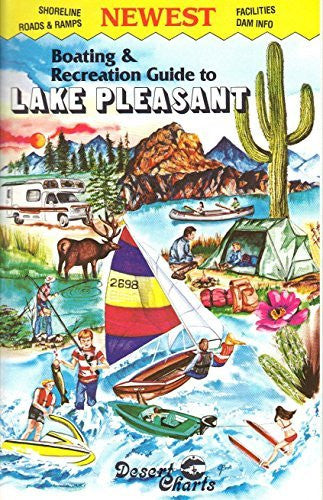 Boating & Recreation Guide to Lake Pleasant - Wide World Maps & MORE! - Map - Wide World Maps & MORE! - Wide World Maps & MORE!