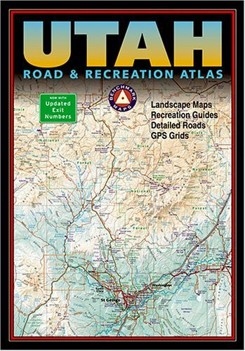 us topo - Benchmark Utah Road & Recreation Atlas - Third edition (Benchmark Map: Utah Road & Recreation Atlas) - Wide World Maps & MORE! - Book - Brand: Benchmark Maps - Wide World Maps & MORE!