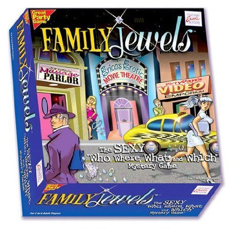 California Exotic Novelties Family Jewels Adult Party Game