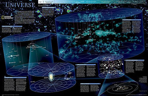 The Universe [Laminated] (National Geographic Reference Map) - Wide World Maps & MORE! - Map - National Geographic - Wide World Maps & MORE!