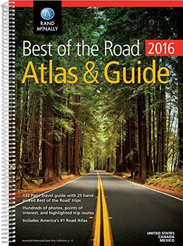 Rand McNally 2016 Best of the Road Atlas & Guide NEW! (Rand Mcnally Road Atlas and Travel Guide)