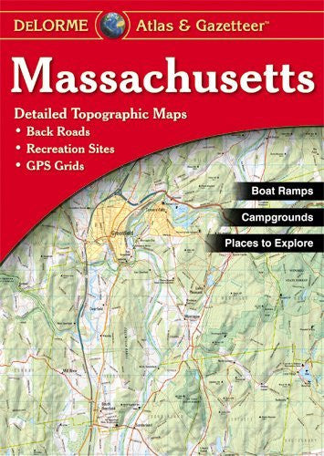 us topo - DELORME Massachusetts Atlas and Gazetteer - Wide World Maps & MORE! - Book - Delorme - Wide World Maps & MORE!