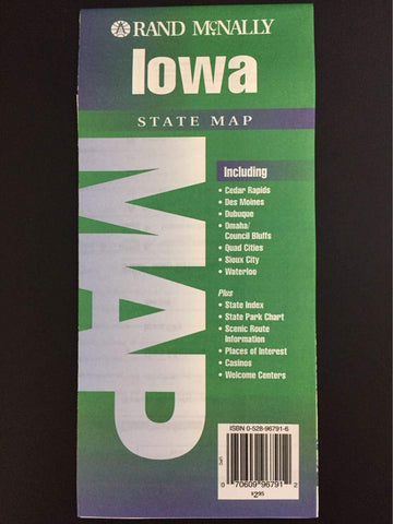 Iowa State Map (State Maps-USA)