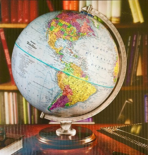 "Replogle World Raised Relief Globe, 12"" Diameter"