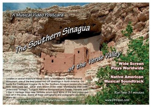 us topo - A Musical Video Postcard: The Southern Sinagua of the Verde Valley - Wide World Maps & MORE! - DVD - Digital Video Destinations - Wide World Maps & MORE!