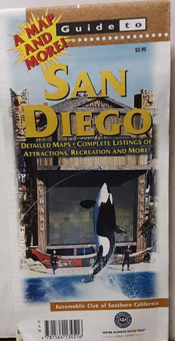 San Diego (Explore! Guide Maps)