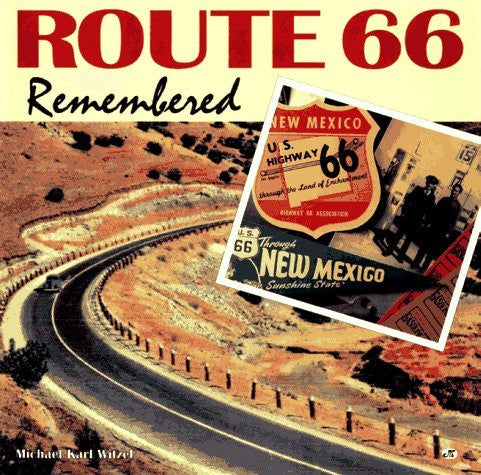 us topo - Route 66 Remembered - Wide World Maps & MORE! - Book - Brand: Motorbooks International - Wide World Maps & MORE!