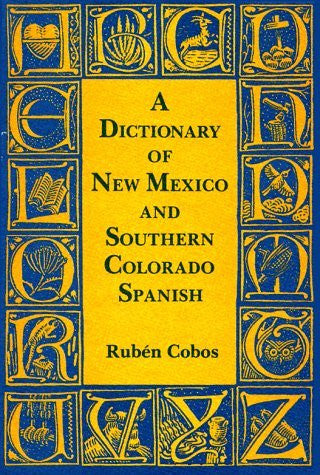 us topo - A Dictionary Of New Mexico And Southern Colorado Spanish - Wide World Maps & MORE! - Book - Brand: Museum of New Mexico Press - Wide World Maps & MORE!