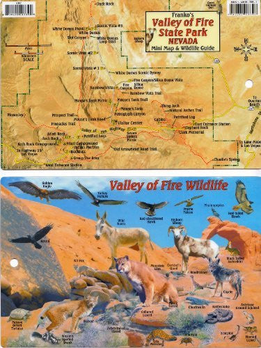 Valley of Fire State Park, Nevada - Wide World Maps & MORE! - Book - Wide World Maps & MORE! - Wide World Maps & MORE!
