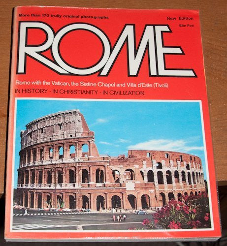 Rome: Rome with the Vatican, the Sistine Chapel, and Villa d'Este (Tivoli) - Wide World Maps & MORE! - Book - Wide World Maps & MORE! - Wide World Maps & MORE!