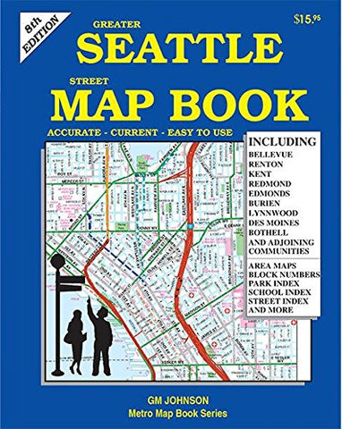Greater Seattle Street Map Book, Washington