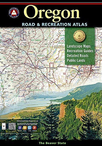 us topo - Oregon Benchmark Road & Recreation Atlas - Wide World Maps & MORE! - Book - National Geographic Maps - Wide World Maps & MORE!