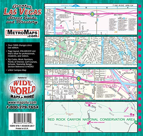 Greater Las Vegas Street Guide & Directory 23rd Edition - Wide World Maps & MORE! - Map - Wide World Maps & MORE! - Wide World Maps & MORE!