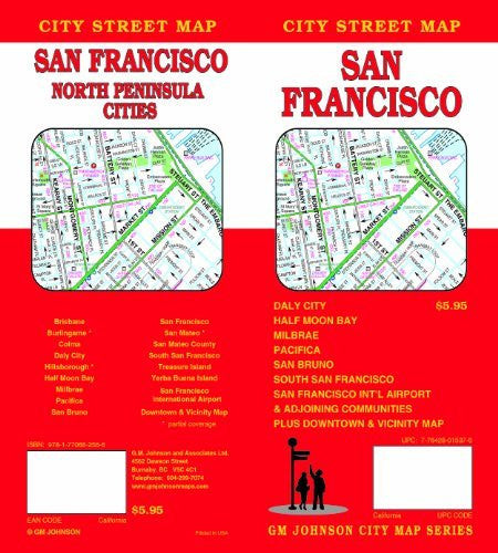 San Francisco, CA - Wide World Maps & MORE! - Map - G.M. Johnson - Wide World Maps & MORE!