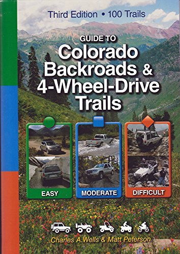 us topo - Guide to Colorado Backroads & 4-Wheel-Drive Trails, 3rd Edition - Wide World Maps & MORE! - Book - Wide World Maps & MORE! - Wide World Maps & MORE!