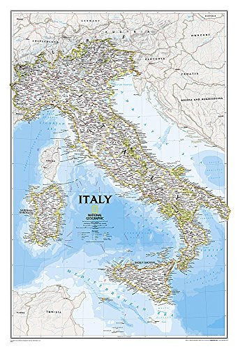 Italy Classic [Laminated] (National Geographic Reference Map)