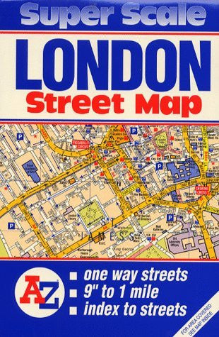 Super Scale Map of London - Wide World Maps & MORE! - Book - Wide World Maps & MORE! - Wide World Maps & MORE!