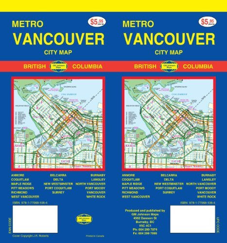 Metro Vancouver City Map (2011 Edition)