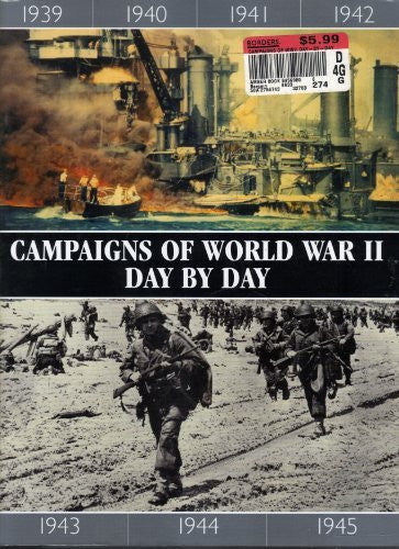 us topo - Campaigns of World War II Day by Day - Wide World Maps & MORE! - Book - Historical Books Amber Books - Wide World Maps & MORE!