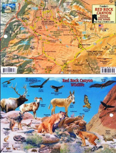 us topo - Red Rock Canyon Nat. Conservation Area, Nevada - Wide World Maps & MORE! - Book - Wide World Maps & MORE! - Wide World Maps & MORE!
