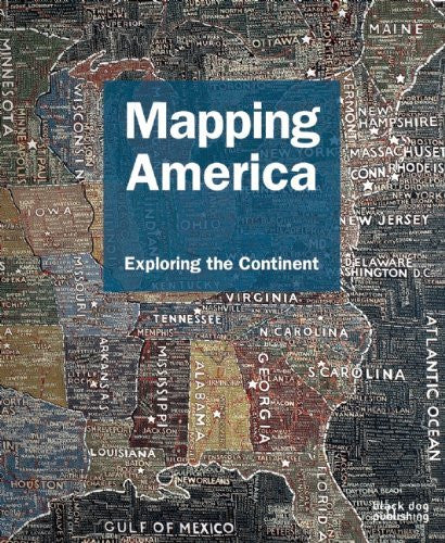 us topo - Mapping America: Exploring the Continent (Mapping (Black Dog)) - Wide World Maps & MORE! - Book - Wide World Maps & MORE! - Wide World Maps & MORE!