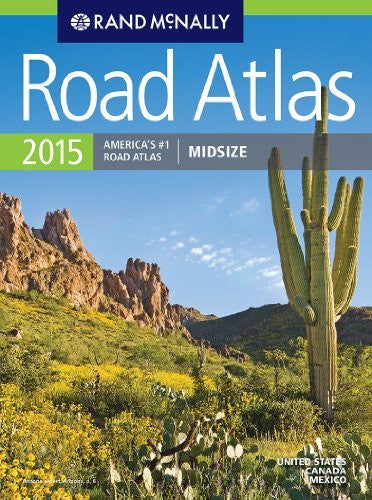 Rand McNally Midsize Road Atlas (Rand Mcnally Road Atlas Midsize)