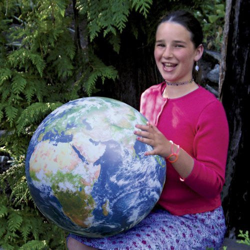 Inflatable Globe Earth Ball