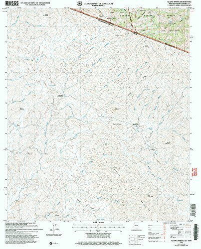 us topo - Alamo Spring, Arizona-Sonora 7.5' - Wide World Maps & MORE! - Book - Wide World Maps & MORE! - Wide World Maps & MORE!