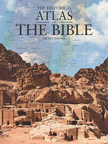 us topo - The Historical Atlas of the Bible - Wide World Maps & MORE! - Book - Barnes, Ian, Dr. - Wide World Maps & MORE!