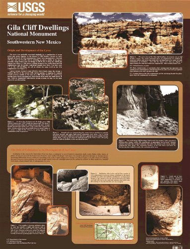 us topo - Gila Cliff Dwellings National Monument - Southwestern New Mexico - Wide World Maps & MORE! - Book - Wide World Maps & MORE! - Wide World Maps & MORE!
