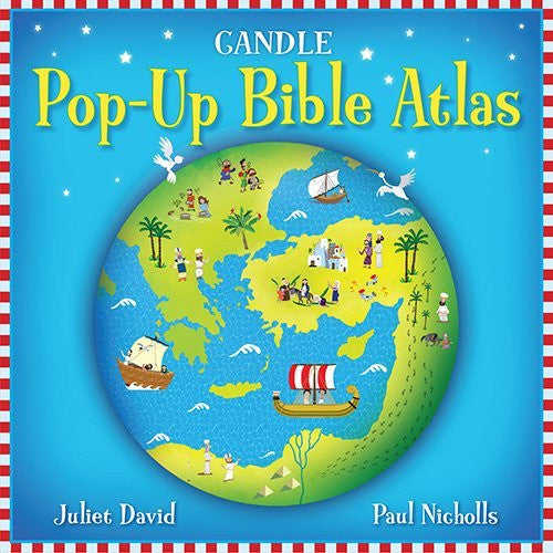us topo - Candle Pop-Up Bible Atlas - Wide World Maps & MORE! - Book - David, Juliet/ Nicholls, Paul (ILT) - Wide World Maps & MORE!